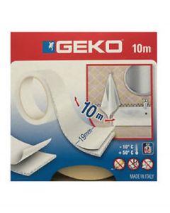 Nastro Biadesivo Geko Soft Spugna Morbido 10m x 19mm FIX IN