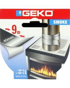 GEKO SMOKE nastro adesivo alluminio alte temperature alluminio 9m x 40mm